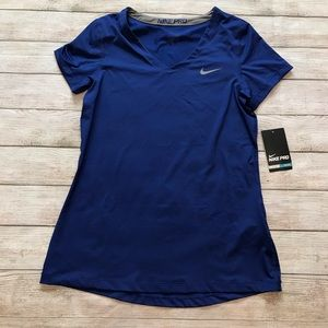NWT Nike Pro Dri Fit Short Sleeve Top Size L